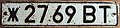 USSR, BELARUSSIAN SSR, VIBESTSK 1980 SERIES -LICENSE PLATE - Flickr - woody1778a.jpg