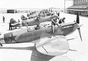 Supermarine Spitfire Mk Vb, ready for delivery...