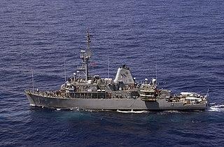 <i>Avenger</i>-class mine countermeasures ship class of American mine countermeasures ships