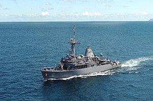 USS Devastator (MCM-6) - USS Devastator, 2005