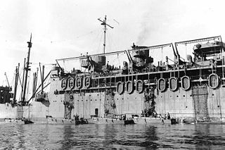 Troopship ship used to carry soldiers