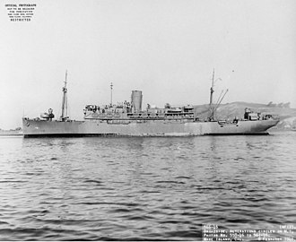 USS Mizar (AF-12) - Image: USS Mizar (AF 12)