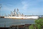 USS Newport News (CA-148) being scrapped in 1993.JPEG