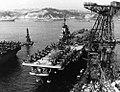 USS Oriskany (CV-34) moored at Yokosuka, circa 1952-1953 (USN 1171842).jpg