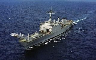 USS <i>Racine</i> (LST-1191) Newport-class tank landing ship