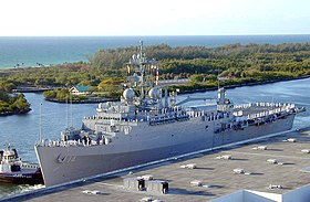 Die USS Trenton 2004 in Port Everglades