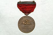 US Army 52025 Indian Wars Service Medal Reverse Side