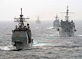 US Navy 040222-N-8590P-066 USS Wasp (LHD 1) Expeditionary Strike Group ships underway.jpg