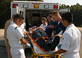 US Navy 040824-N-0620S-002 Hospital Corpsmen lift a victim into an ambulance during a recent mass casualty drill on board Naval Air Station Oceana.jpg