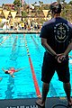 US Navy 070908-N-0640K-150 Senior Chief Aviation Electronic Technician Mike Connolly, assigned to the Center for Naval Aviation Technical Training Unit, serves as a swim meet referee.jpg