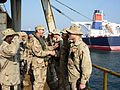 US Navy 090121-N-1469M-011 Adm. Jonathan W. Greenert meets with Sailors serving aboard an oil platform.jpg