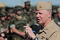 US Navy 100429-N-4267W-118 Chief of Naval Operations (CNO) Adm. Gary Roughead answers questions from Sailors assigned to Navy Expeditionary Combat Command (NECC) at Joint Expeditionary Base Little Creek-Fort Story.jpg