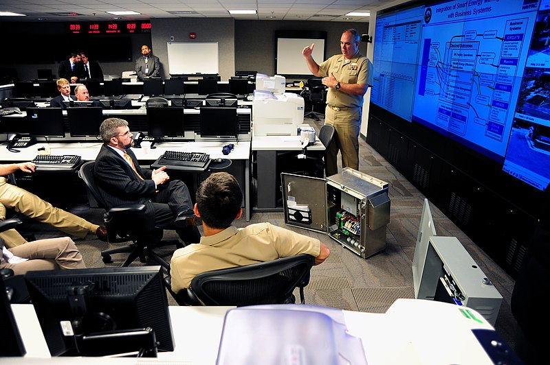 File:US Navy 110928-N-KV696-072 Naval District Washington (NDW) officials present their smart grid pilot to John Conger, Assistant Deputy Under Secretar.jpg