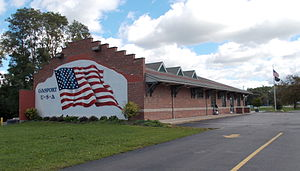 Gasport, New York - U.S. Post Office, Gasport, NY, September 2012