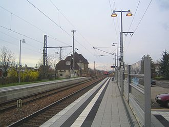 Ubstadt-Weiher - Image: Ubstadt weiher 2