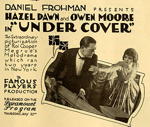 Owen Moore - in film Under Cover (1916)