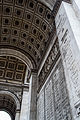Under the Arc de Triomphe December 2013.jpg