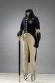 Uniform, Gustav IV Adolf och värja - Livrustkammaren - 15796.tif