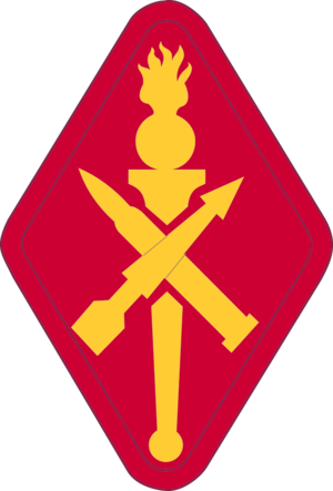 United States Army Ordnance Munitions and Electronic Maintenance School - Shoulder sleeve insignia