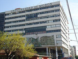 Universidad de Morón - Image: Universidad de Morón