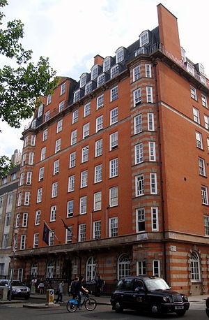 UCL School of Management - The main UCL Union building situated on Gordon Street