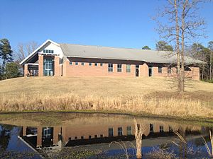 University of Mississippi Field Station - Education building at UMFS