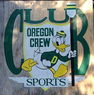 University of Oregon rowing team