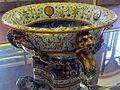 Urbino, bottega fontana, rinfrescatoio a raffaellesche con scontro navale (da t. zuccari) 1565-75 ca. 3.JPG