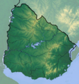 Uruguay location map Topographic.png