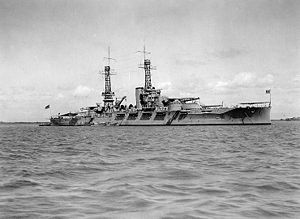 The USS Oklahoma