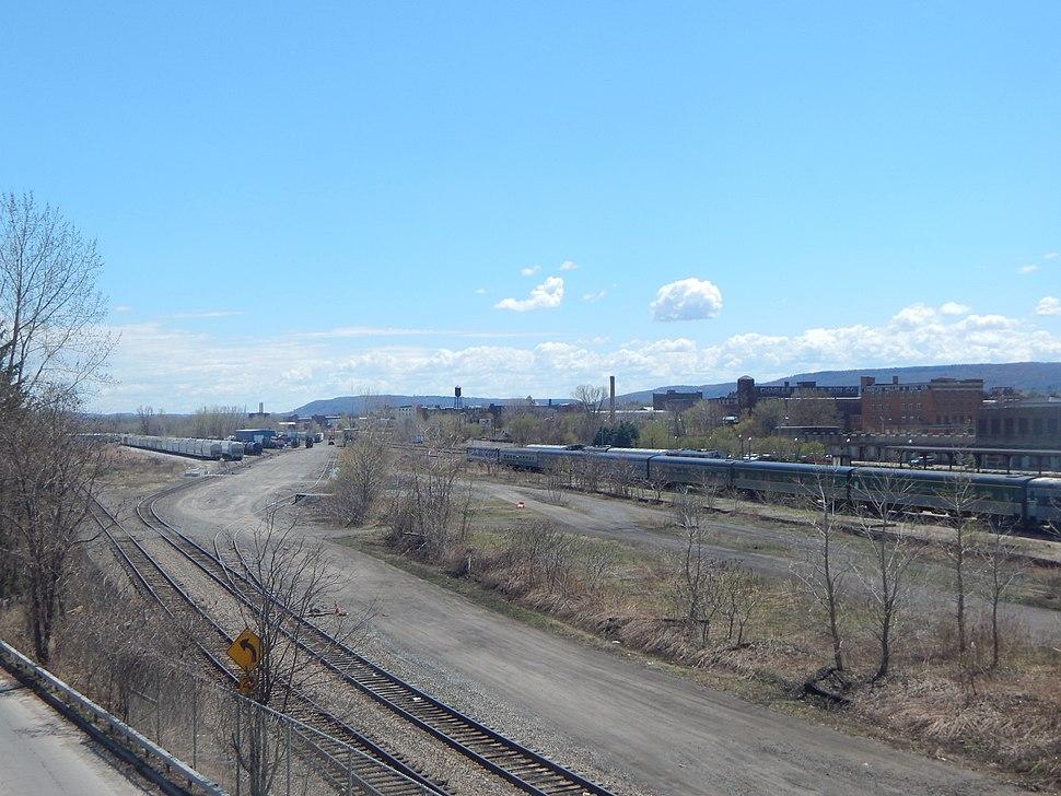 Utica rail yard
