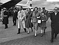 V.l.n.r. prins Bernhard, prinses Irene, koningin Juliana en prinses Christina, Bestanddeelnr 910-7963.jpg