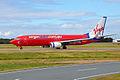 VH-BZG 'Bretts Jet' Boeing 737-8FE Virgin Blue (Virgin Australia) (6601232885).jpg