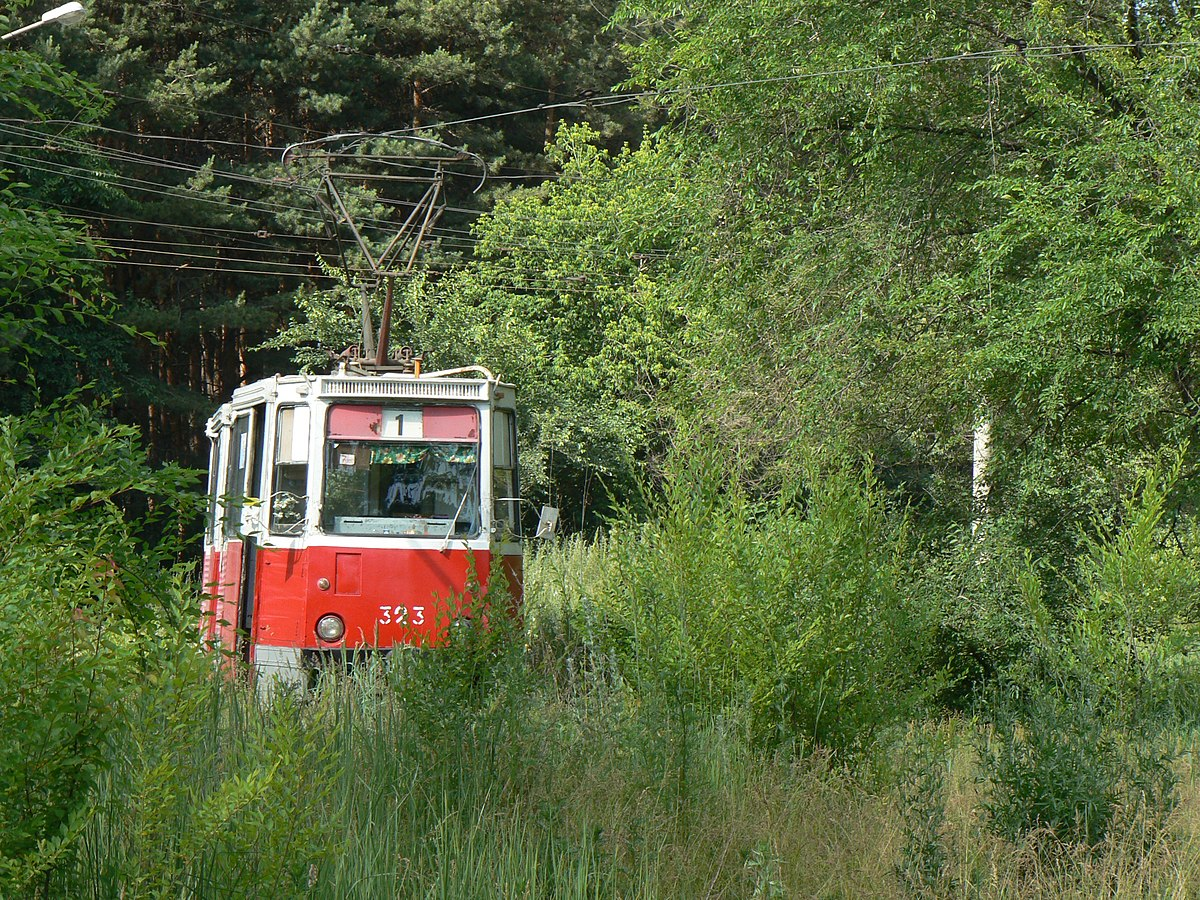 схема маршруто воронежского трамвая