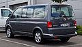 VW Multivan 2.0 TDI Comfortline (T5, Facelift) – Heckansicht, 21. Juli 2012, Velbert.jpg