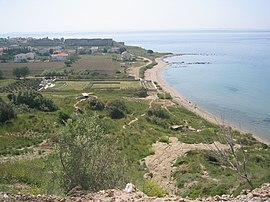 V Beach at Gallipoli.JPG