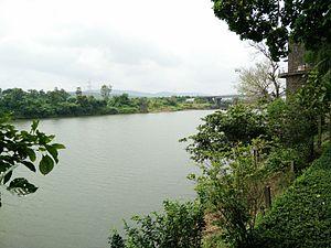 Vaitarna - Vaitarna River, View from Silent Hill Resort