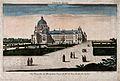 Val-de-Grâce, Paris; nuns walking in the gardens of the conv Wellcome V0014347.jpg