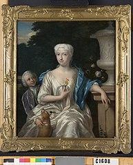 Cornelia Jacoba Kemp (1696-1755), echtgenote van Johannes Schuylenburch en haar zoon Pieter van Schuylenburch (1714-1774)