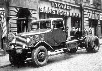 Vanajan Autotehdas - The Vanaja VaWh was based on the White M2 Half Track vehicle