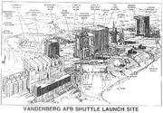 Vandenberg AFB Shuttle Launch Site