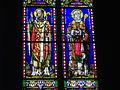 Vannes - cathédrale, vitrail des saints Patern et Mériadec.JPG