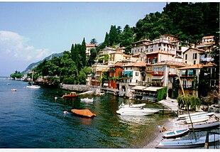 Il pittoresco borgo di Varenna