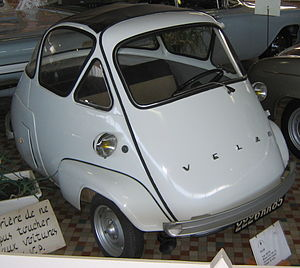 Isetta - Velam Isetta in the Musée automobile de Vendée