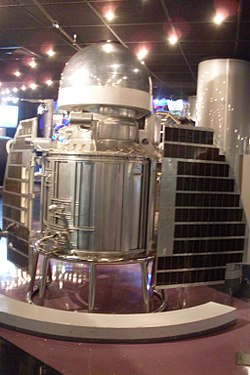 Venera 1 (b) (Memorial Museum of Astronautics).JPG