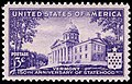 Vermont 150th Anniv statehood 3c 1941 issue.JPG