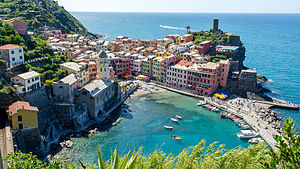 Vernazza - Image: Vernazza, Cinque Terre (panorama)