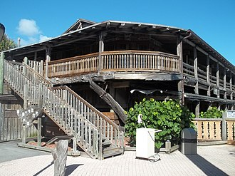 National Register of Historic Places listings in Indian River County, Florida - Image: Vero Beach FL Driftwood Inn 09