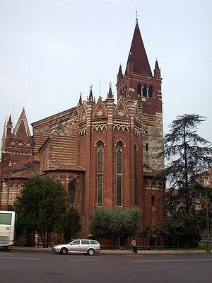 San Fermo Maggiore, Verona - View of Apse
