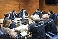 Vertice del comitato operativo per il coronavirus Protezione civile 22 febbraio 2020.jpg